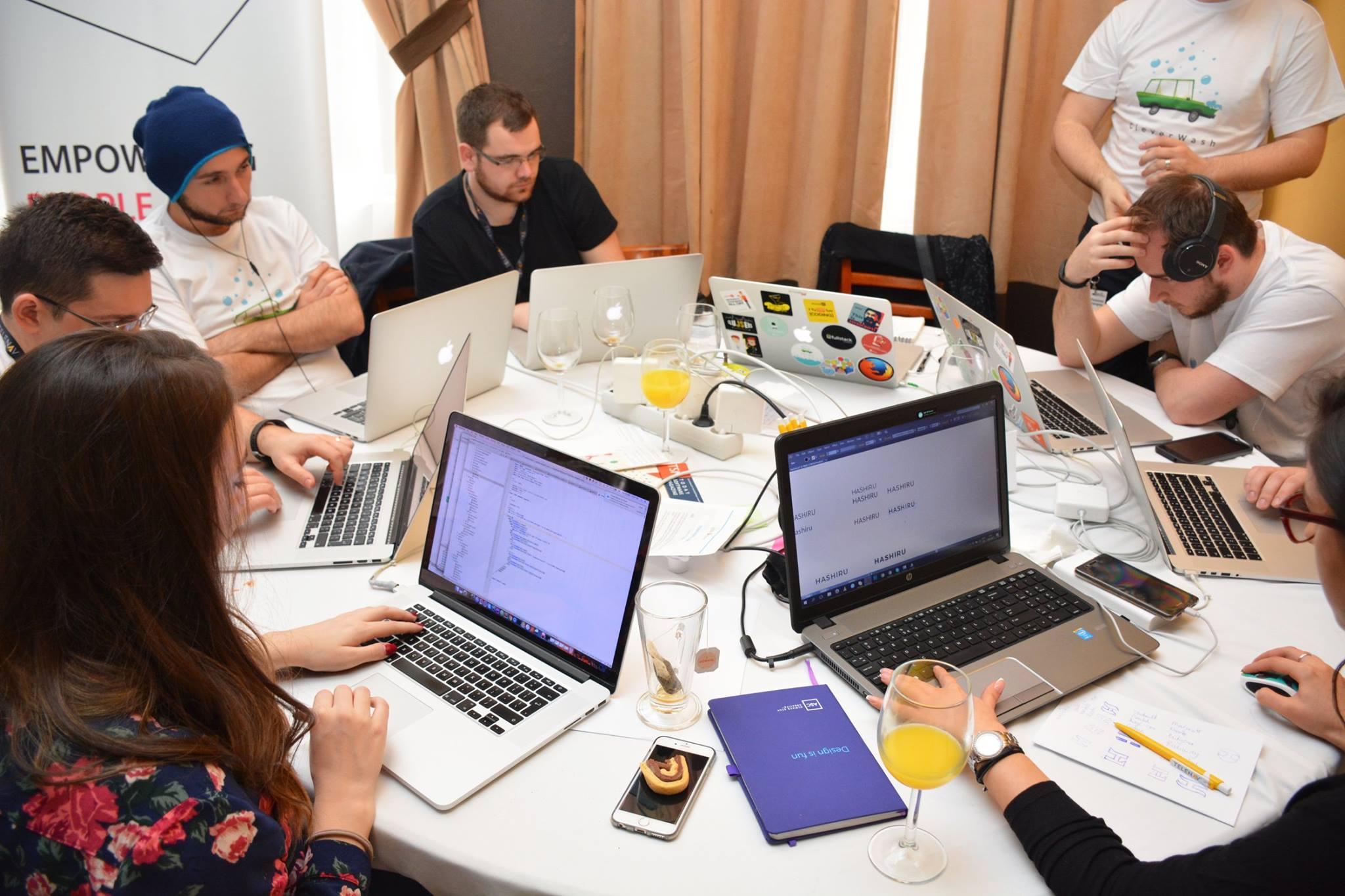 Hacking @ StartupWeekendCluj